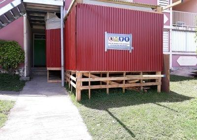 Désamiantage résidence Les Barbadines – le Moule
