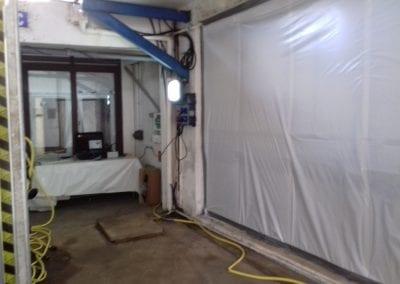 Désamiantage bâtiment EDF - Cayenne