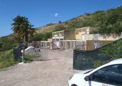 Construction gros oeuvre Centre sportif du Carbet